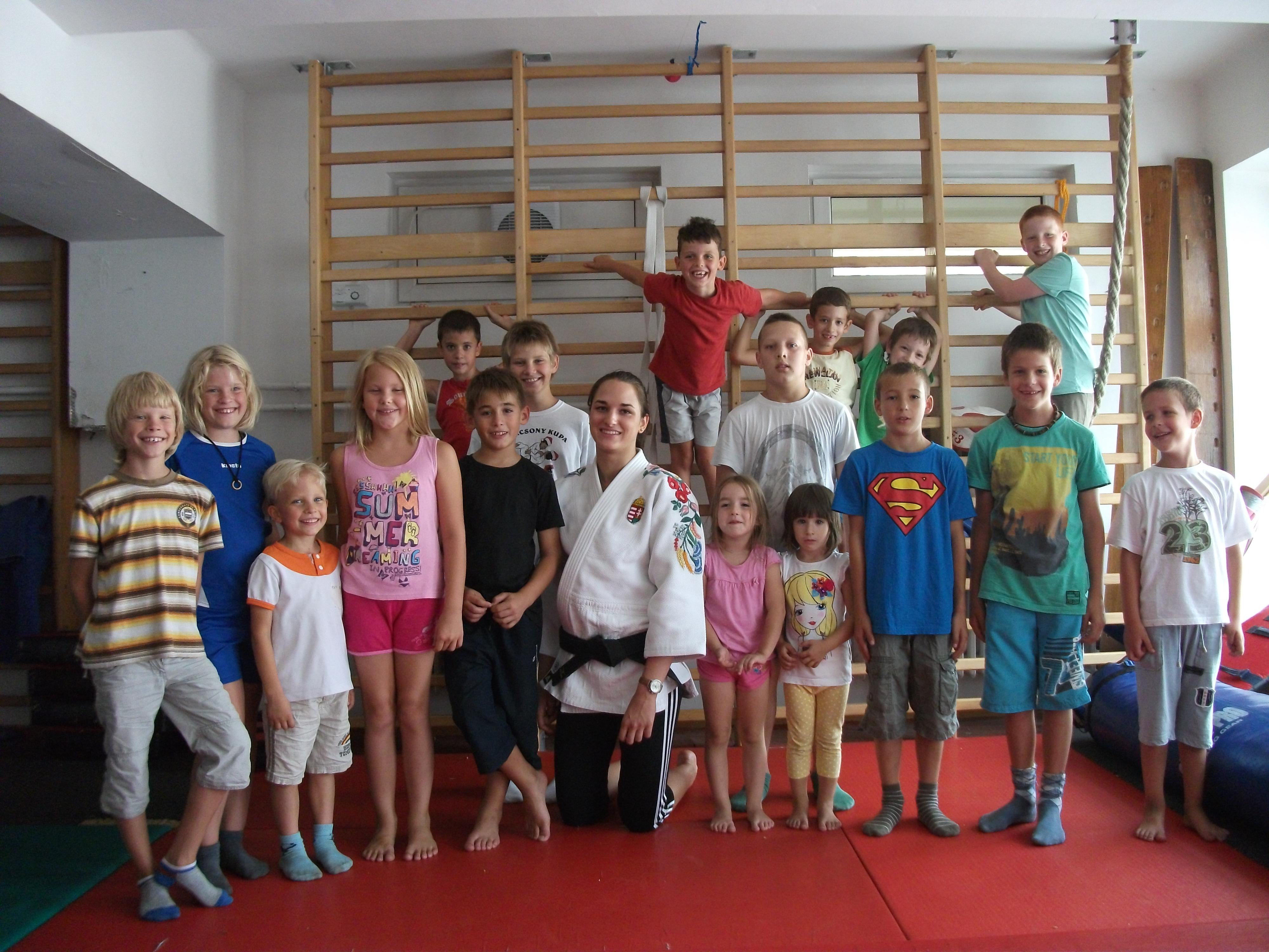 Judo tábor