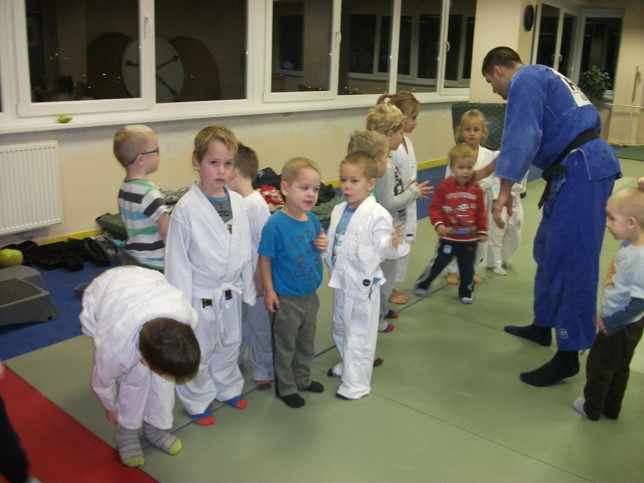 Óvodás judo oktatás
