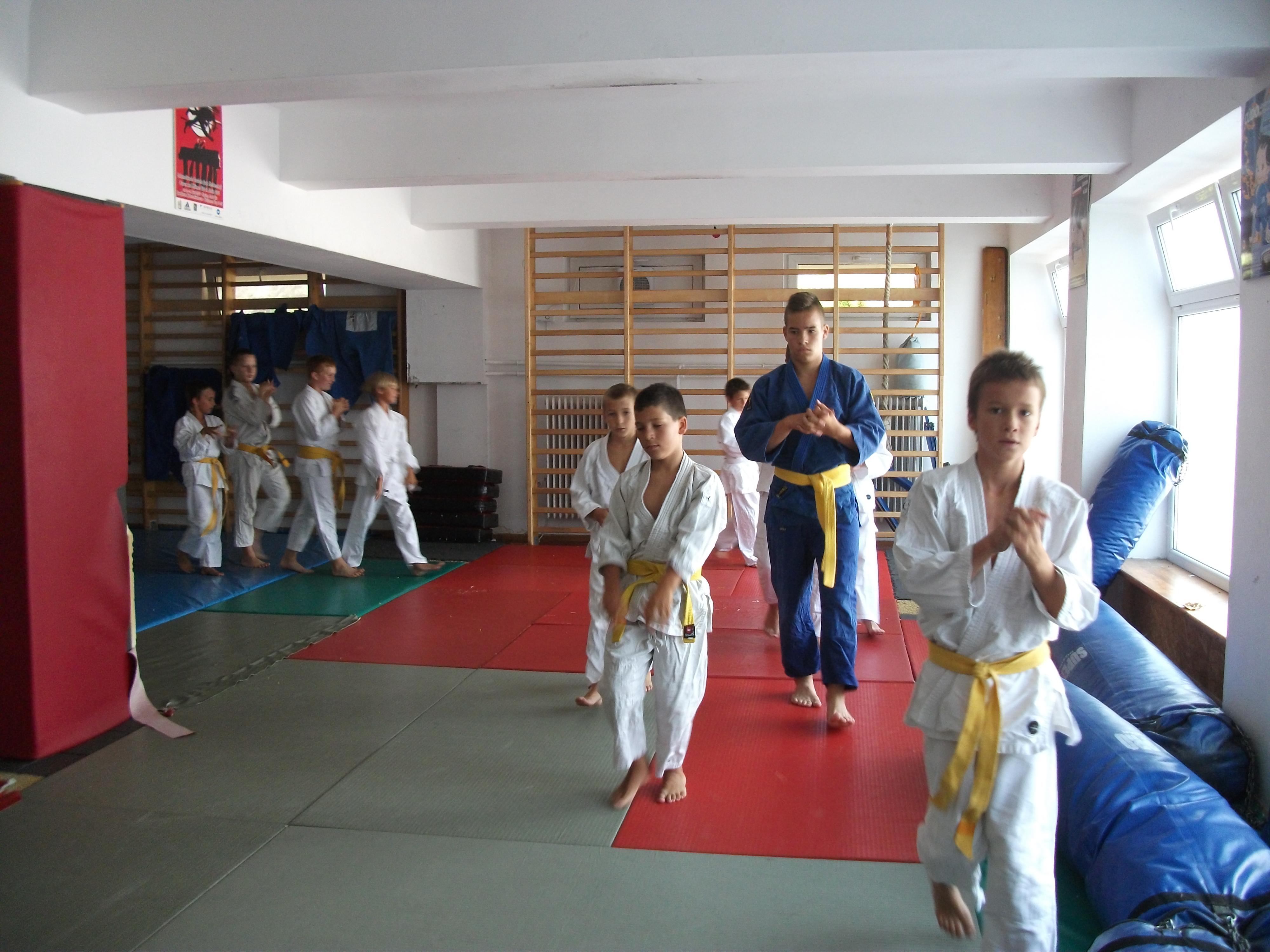 Gyerek judo oktatás