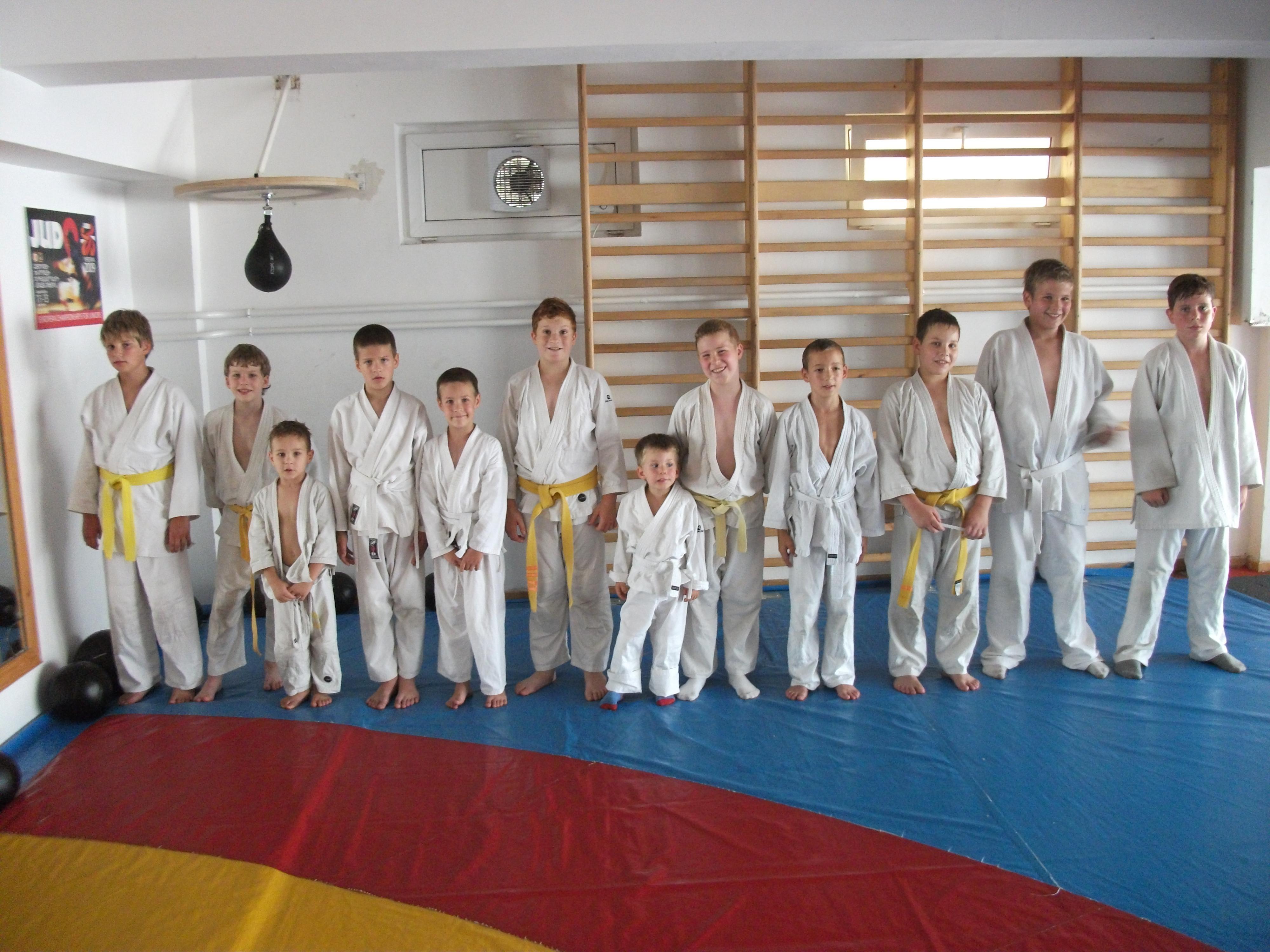 Judo oktatás